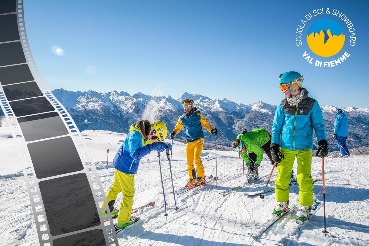 Scuola di Sci e Snowboard Val di Fiemme – Video